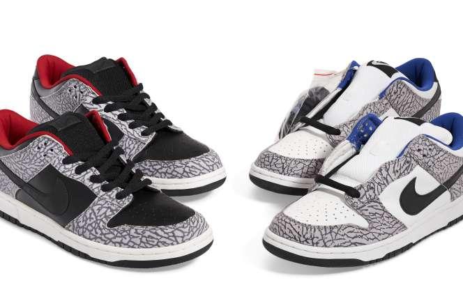 Deux paires de Supreme/Nike