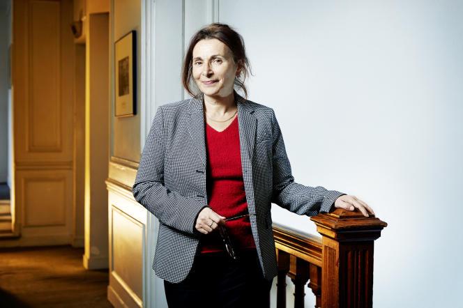 Anne Muxel, au Centre de recherches politiques de Sciences Po (Cevipof), à Paris, le 9 janvier 2019.