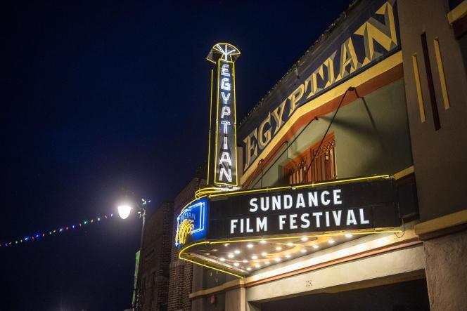A l'Egyptian Theatre,à Park City, dans l'Utah, le 28 janvier 2020.