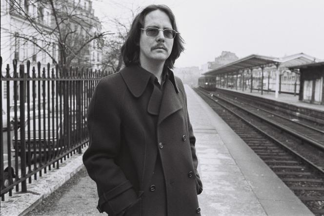 Peter Handke, à Paris, en 1974.