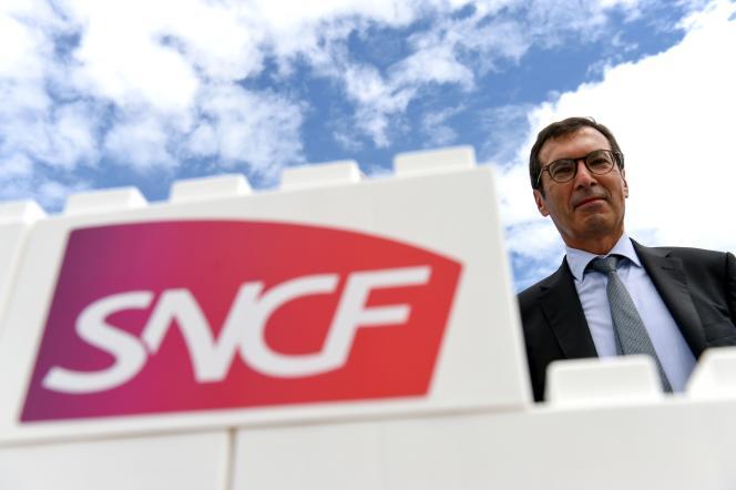 Le PDG de la SNCF Jean-Pierre Farandou, à Orléans, le 25 août 2020.