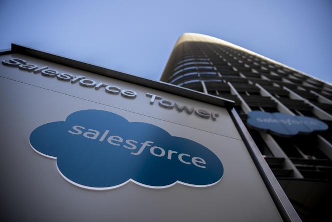 La tour de Salesforce à San Francisco, le 1er decembre 2020.