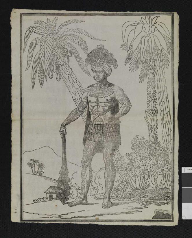 Estampe du XIXe siècle représentant Joseph Kabris.