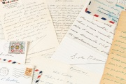 Quelques-unes des lettres échangées par Simone de Beauvoir et Violette Leduc, entre janvier 1945 et avril 1972.