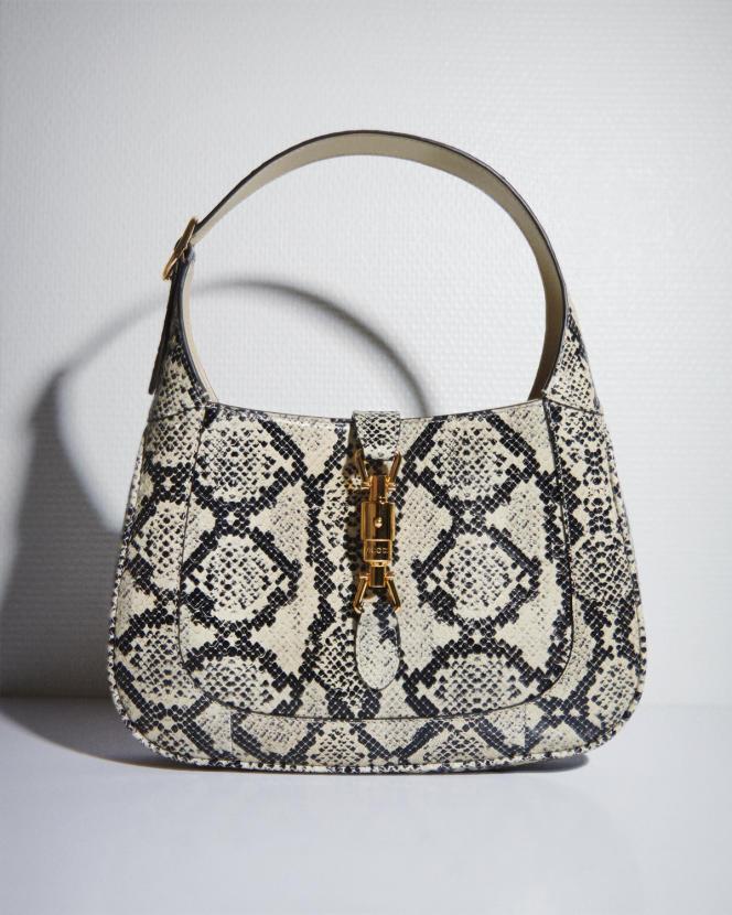 Sac Jackie 1961, en python, Gucci, 2700€.