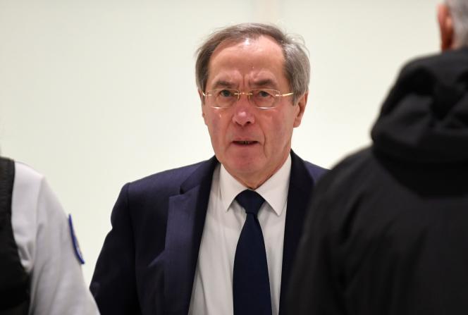 L'ancien ministre de l'intérieur, Claude Guéant, au tribunal de Paris, en décembre 2018.