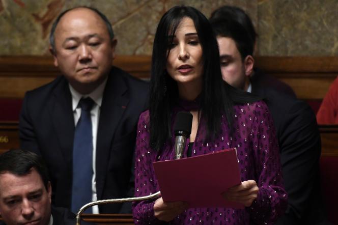 Alexandra Louis,députée (LRM) des Bouches-du-Rhône, à l'Assemblée nationale à Paris, en novembre 2019.