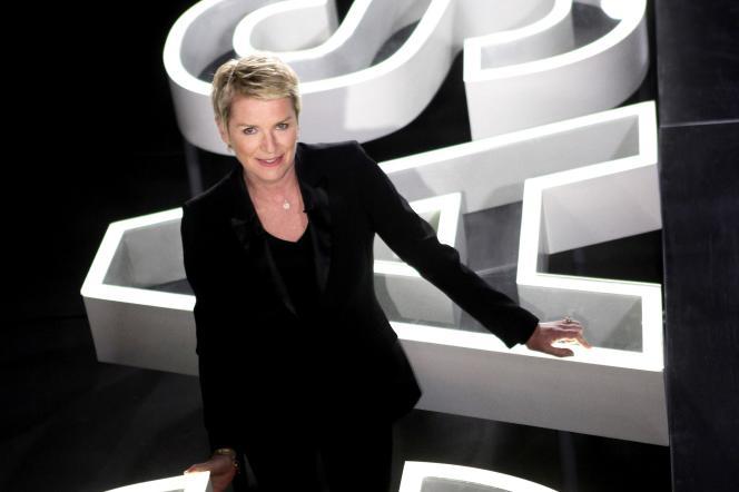 Elise Lucet, la présentatrice et rédactrice en chef des magazines de France 2 «Envoyé spécial» et «Cash investigation».