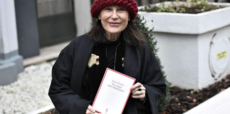 Le prix littéraire Interallié décerné à Irène Frain pour « Un crime sans importance »