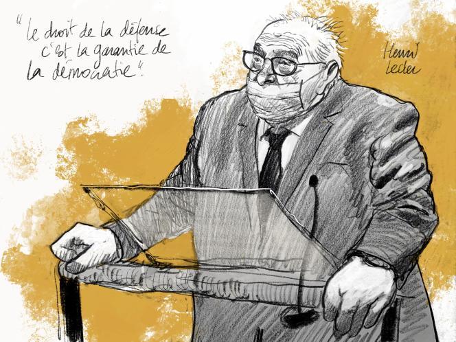 Henri Leclerc représente le Conseil de l'Ordre des avocats de Paris 3 décembre 2020