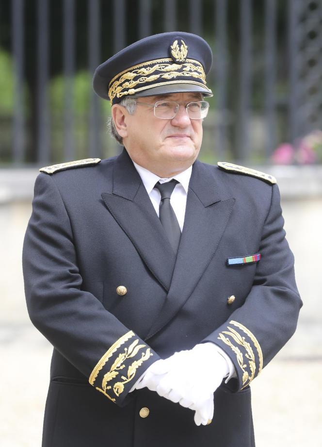 Serge Morvan, alors préfet des Yvelines, à La-Celle-Saint-Cloud, en juillet 2017.