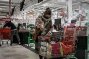 Dans un supermarché à Bordeaux, le 4 novembre.