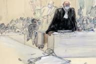Richard Malka a plaidé devantla cour d'assises spéciale de Paris, vendredi 4 décembre.