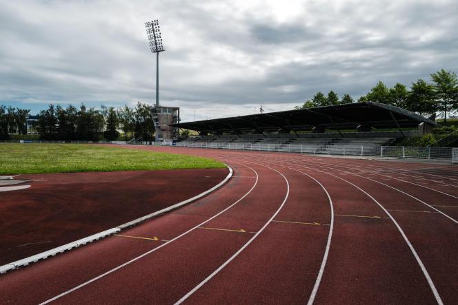 Le stade Jacky-Boxberger, à Montbéliard.