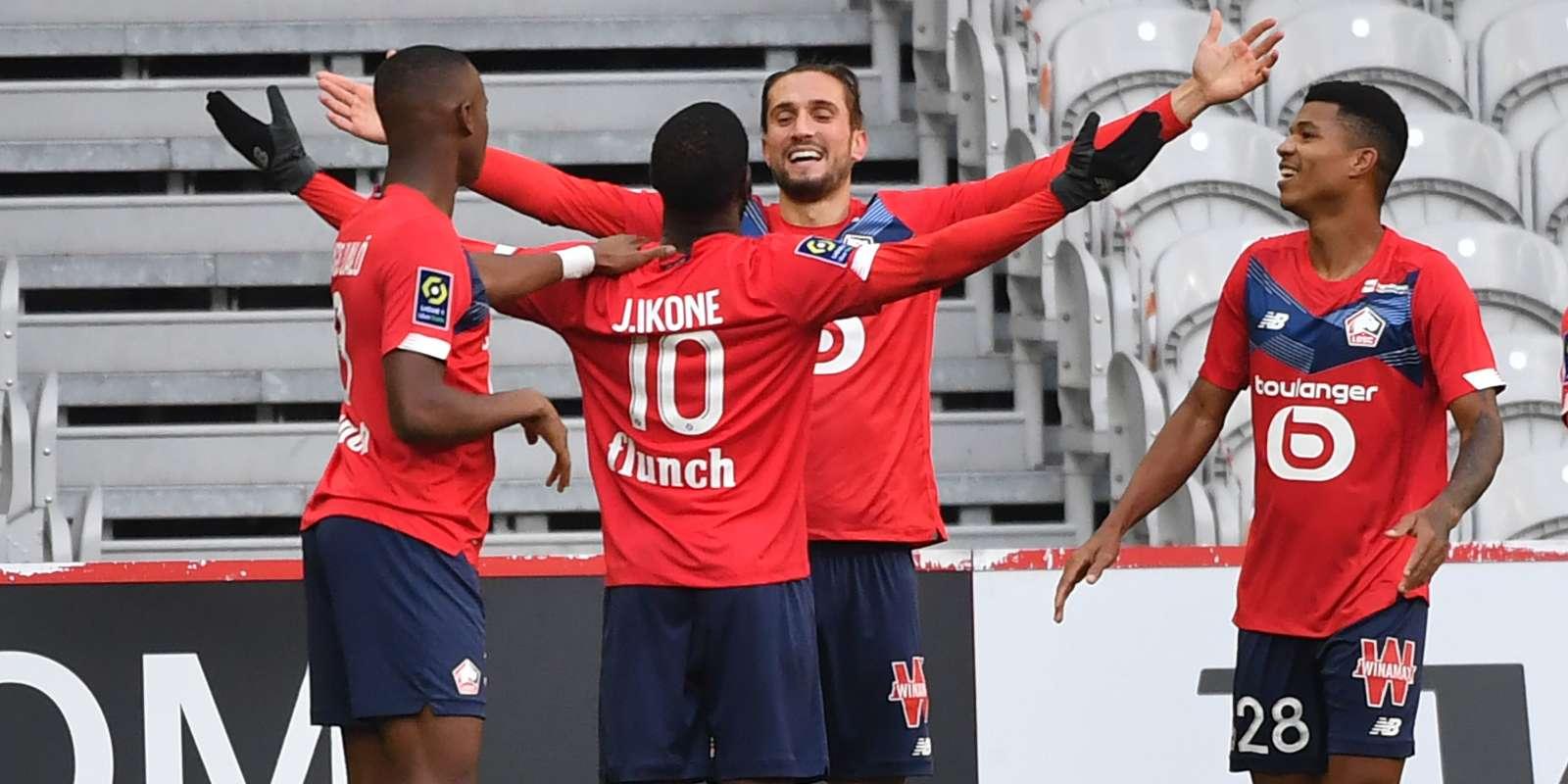Lille s'empare de la deuxième place du championnat devant Marseille et juste derrière le PSG.