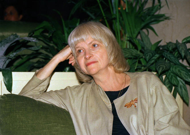 Alison Lurie, à New York, en 1988.