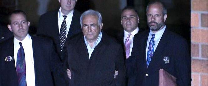 Samedi 14 mai 2011,jour où Dominique Strauss-Kahn est arrêté à New York. Image extraite du documentaire«Chambre 2806: l'affaire DSK» (2020), deJalil Lespert.