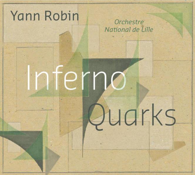 Pochette de l'album « Inferno – Quarks», deYann Robin.