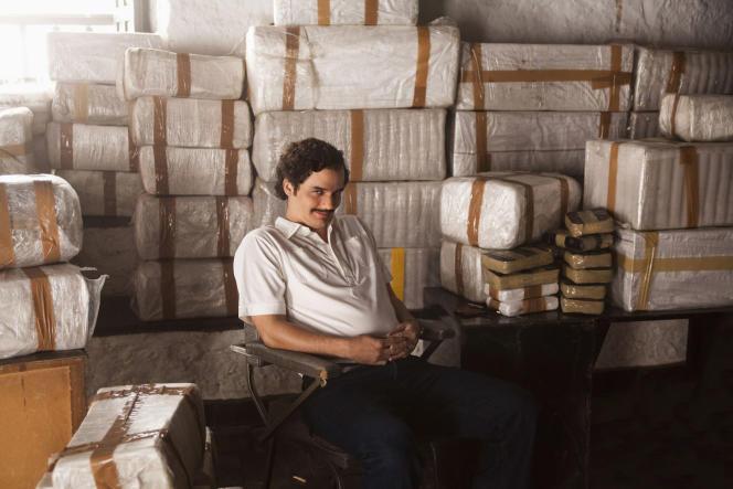 Wagner Moura sous les traits du célèbre narcotrafiquant colombien, Pablos Escobar, dans la série «Narcos».