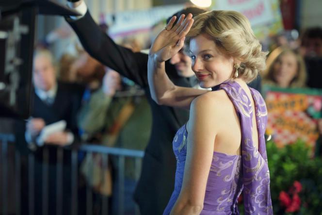La comédienne britannique Emma Corrin, interprète de Diana Spencer dans la quatrième saison de« The Crown».