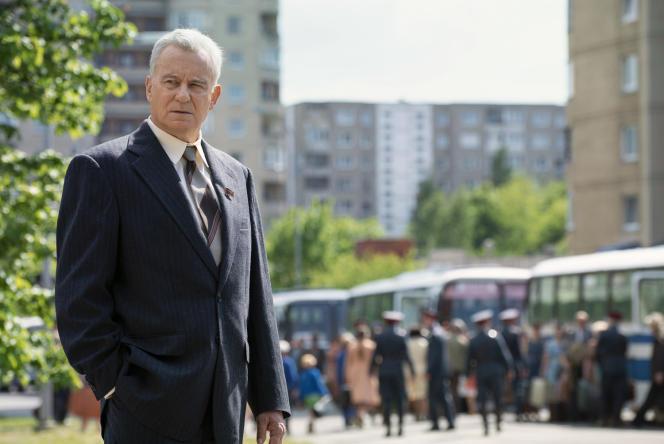 L'acteur suédoisStellan Skarsgard, dans« Chernobyl».