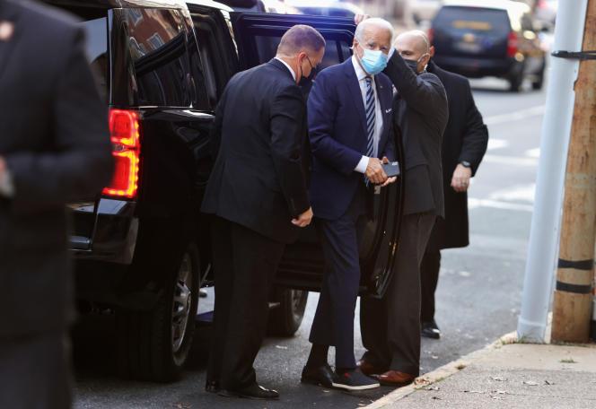 Le président élu des Etats-Unis, Joe Biden, le 3décembre 2020, à Wilmington (Delaware).