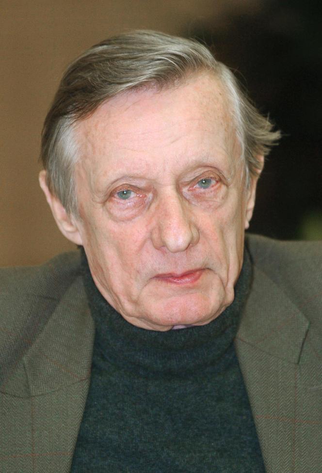 François Leterrier, à Vincennes (Val-de-Marne), le 23 janvier 2006.