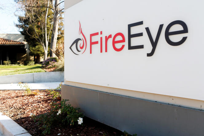 At FireEye headquarters in Milpitas, Silicon Valley, California.