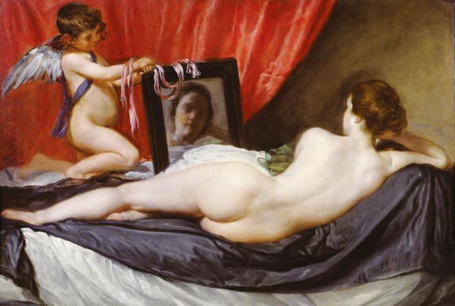 «La Vénus au miroir», deVelazquez(1648-1651).