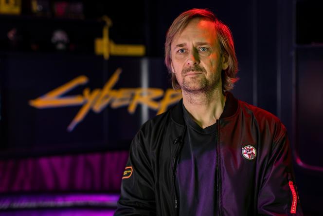 Le cofondateur de CD Projekt, Marcin Iwinski.