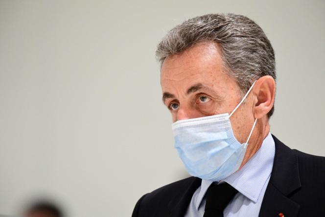 Nicolas Sarkozy, le 8 décembre à Paris.