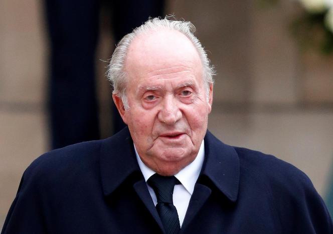 L'ancien roi d'Espagne Juan Carlos le 4 mai 2019 au Luxembourg.