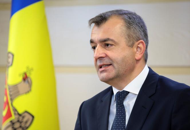 Le premier ministre moldave, Ion Chicu, à Chisinau le 14 novembre 2019.