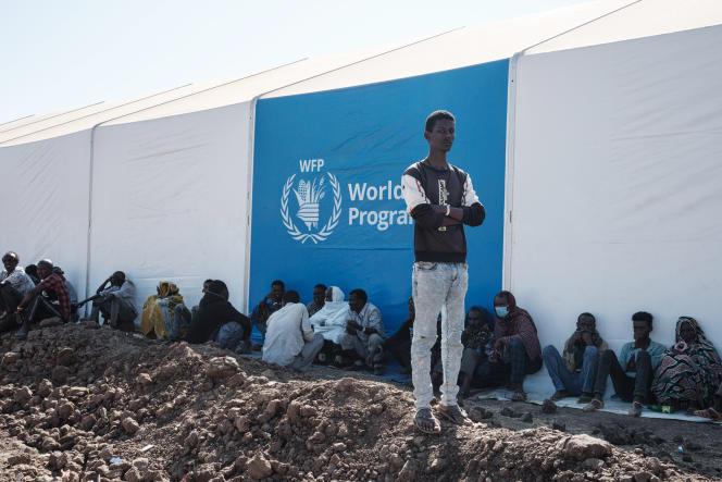 Dans un camp de réfugiés éthiopiens à Gedaref, au Soudan, le 6décembre 2020.