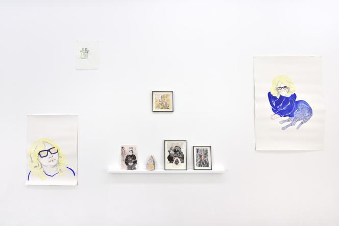 Exposition « Tout devient rose au crépuscule », de Yesmine Ben Khelil, à la Galerie Maïa Muller, à Paris.