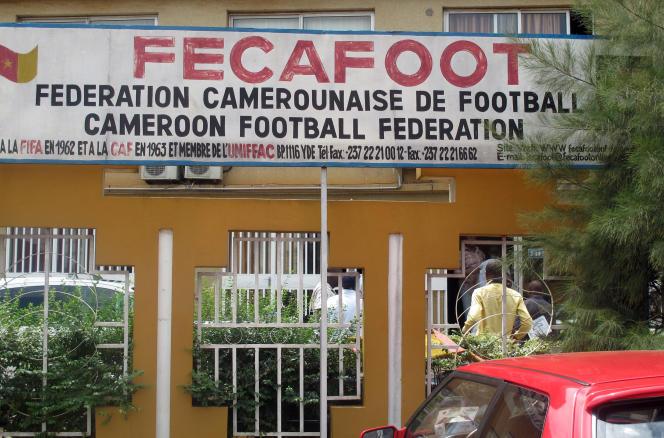 Le siège de la Fédération camerounaise de football (Fécafoot), à Yaoundé, en juin 2013.