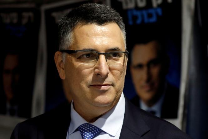 Gideon Saar, membre du Likoud, en Israël, en 2019.