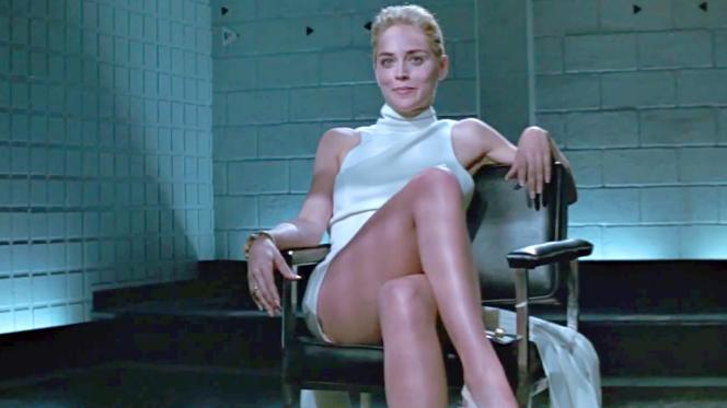 Sharon Stone dans « Basic Instinct » (1992), de Paul Verhoeven.