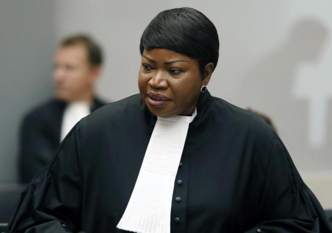 La procureure générale de la Cour pénale internationale, Fatou Bensouda, en août 2018 à La Haye (Pays-Bas).
