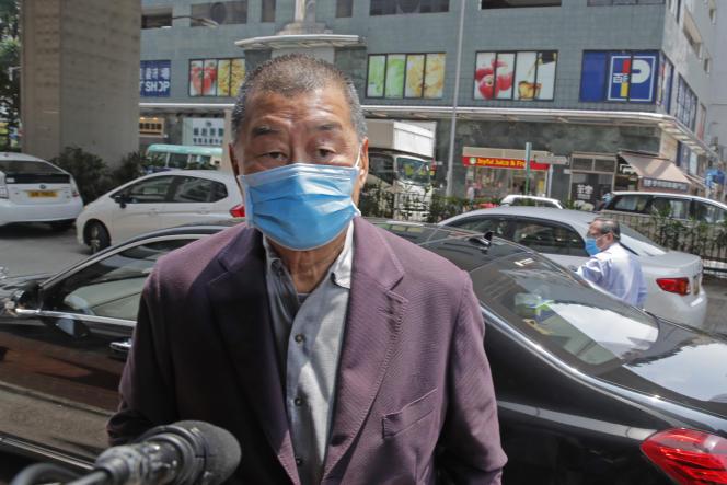 M. Lai, 73 ans, est à ce jour la personnalité hongkongaise la plus connue à être accusée d'avoir enfreint cette loi sur la sécurité nationale.