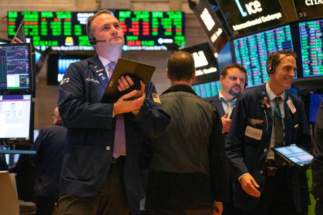 Au New York Stock Exchange, le 4 mars 2020.