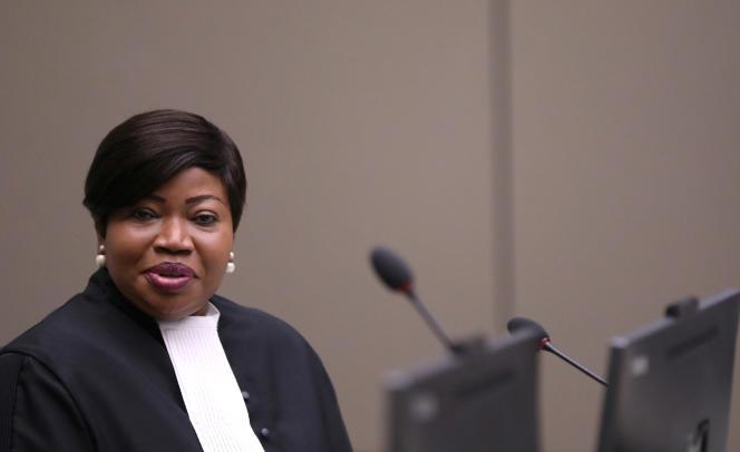 La procureure de la Cour pénale internationale, Fatou Bensouda, le 8 juillet 2019 à La Haye.