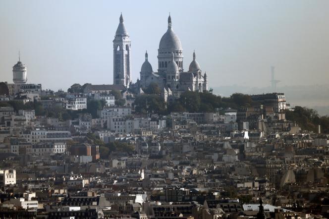 La butte Montmartre, en septembre 2020.