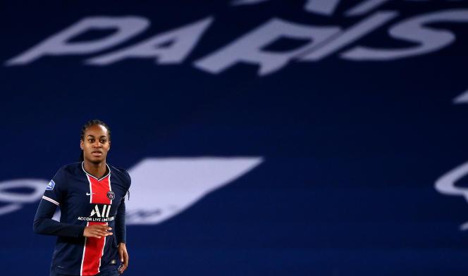 Marie-Antoinette Katoto lors du match contre Lyon, le 20 novembre.