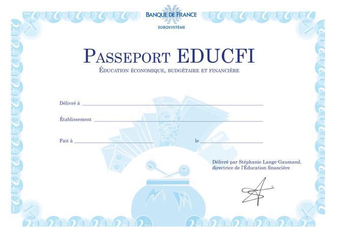 Le passeport Educfi.