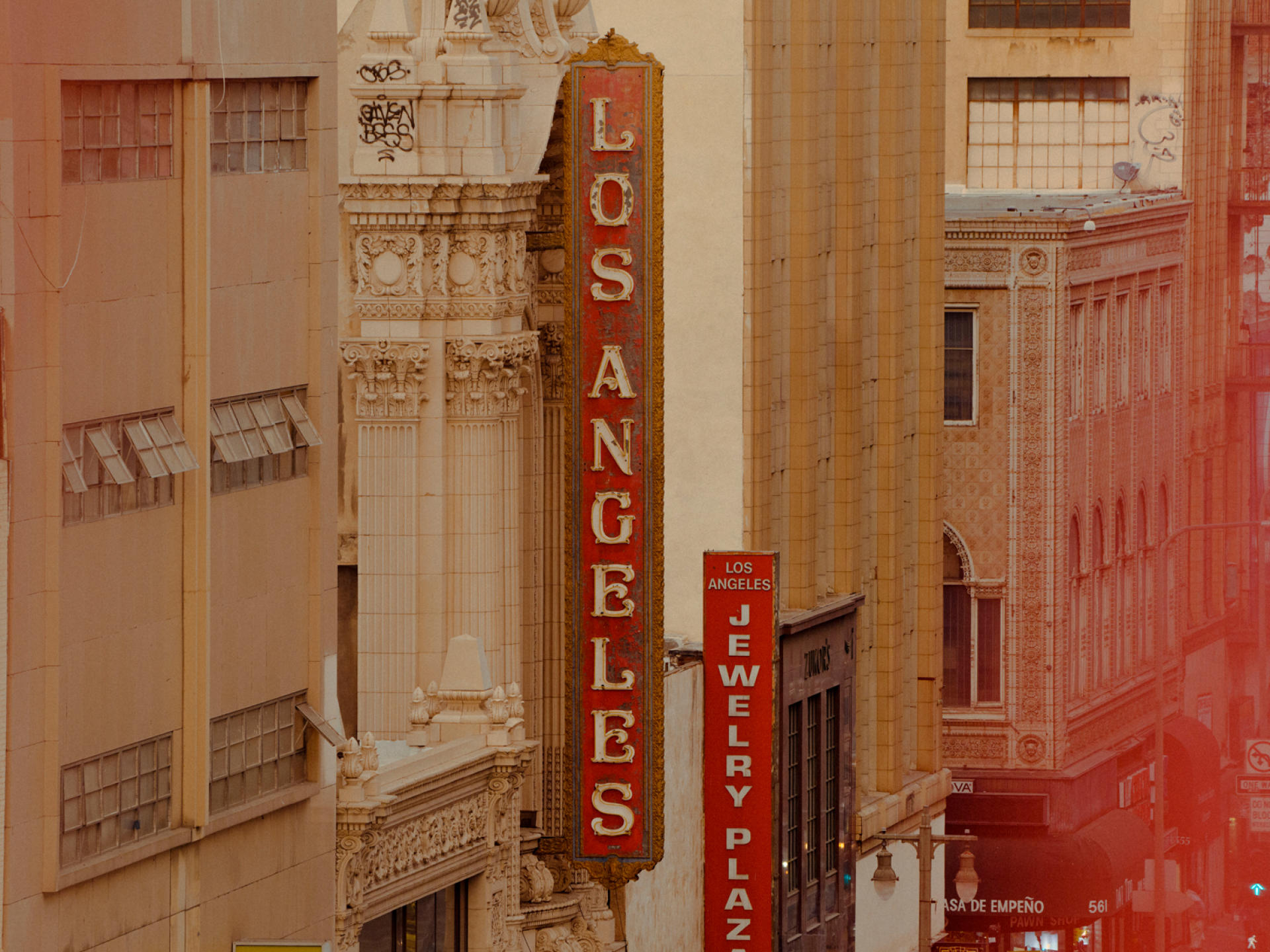 Le Los Angeles Theatre, un cinéma construit en 1931.