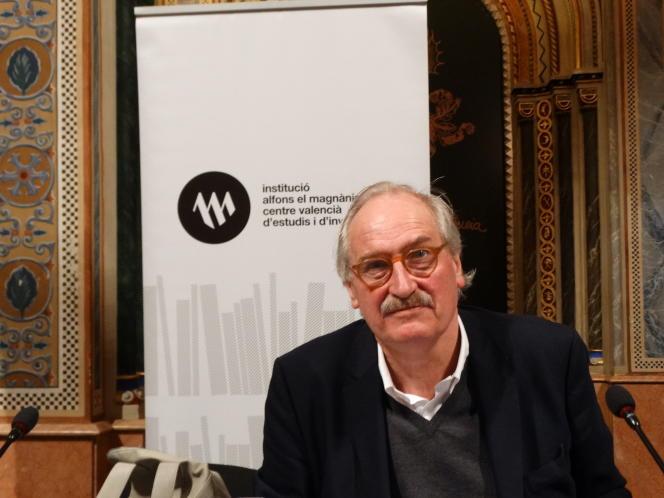 Le philosophe allemand Axel Honneth, à Valence (Espagne), en 2017.