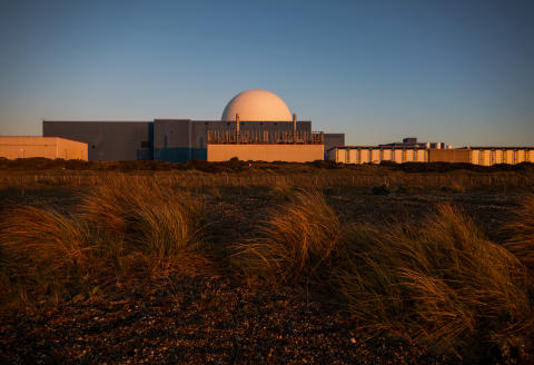 The Sizewell B nuclear power station, operated by Electricite de France SA (EDF), stands in Sizewell, U.K., on Friday, May 15, 2020. The network operator struck a deal with EDFto cut supply at itsSizewellnuclear plant by half for at least six weeks because the demand for power is 20% lower than normal as measures to contain the coronavirus have shut industry and kept people at home for weeks. Photographer: Chris Ratcliffe/Bloomberg via Getty Images