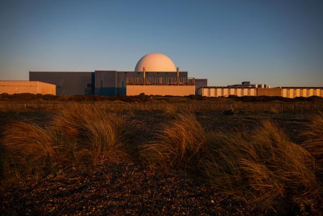 La station électrique de Sizewell B, au Royaume Uni, le 15 mai.