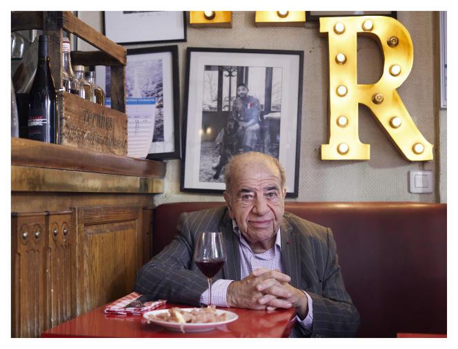 Roland Castro, au Petit Célestin, à Paris, le 1eroctobre.